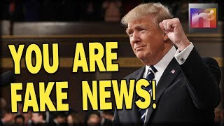 HAHA! Here are Trump's Fake News Award Winners for 2017!