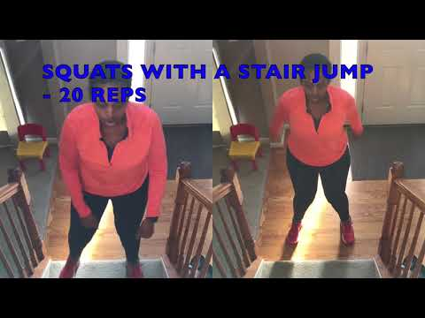 AT HOME WORKOUT TO START YOUR WEIGHT LOSS: MODIFIER OPTION INCLUDED