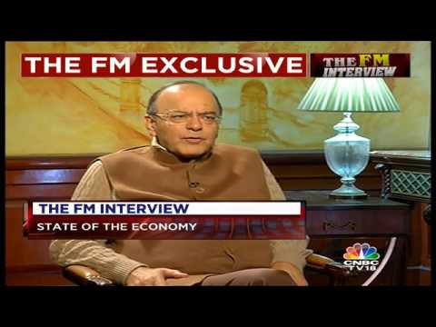 EXCLUSIVE: FM Arun Jaitley Speaks To CNBC-TV18