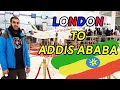 London to Addis Ababa on Ethiopian Airlines