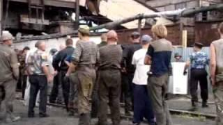 Рейдерский захват шахты Белозерская  Съемка 4