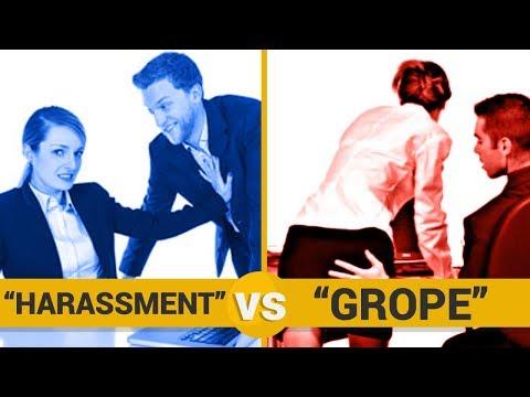 GROPE VS HARASSMENT - Google Trends Show