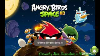ANGRY BIRDS SPACE HD APK POWERUP ILIMITADOS MOD 2016 MEGA