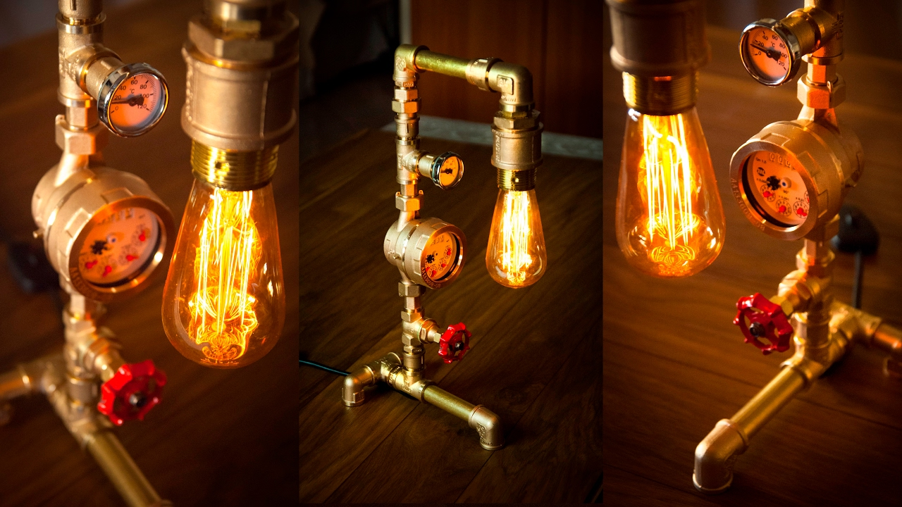 Diy Industrial Lighting How To Make