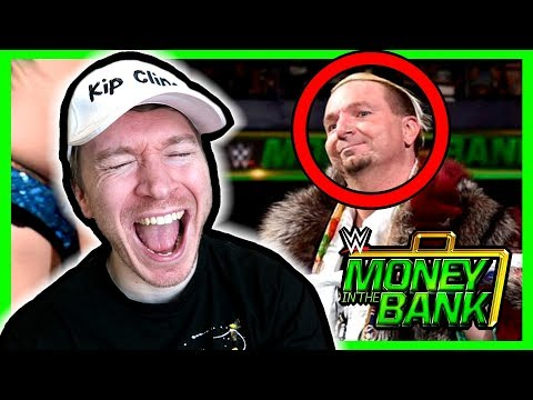 JAMES ELLSWORTH RETURNS REACTION! WWE Money In The Bank 2018