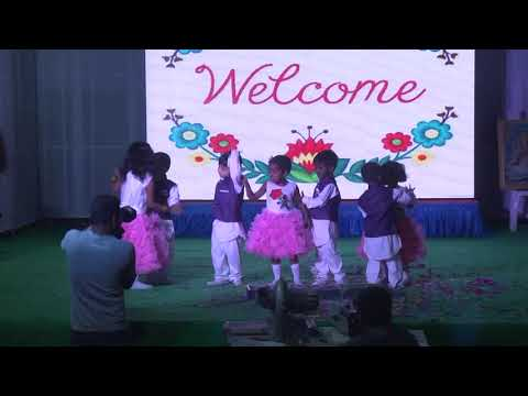 Welcome dance by nursery kids