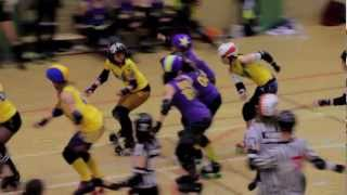 Roller Derby Bout: CCR vs STRD 2011