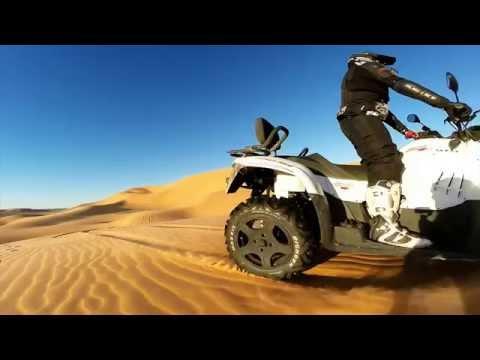 GoPro Timimoun Algerie - Quad dans les dunes