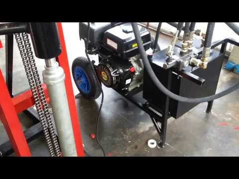 PORTABLE HYDRAULIC TUBEWELL DRILLING MACHINE PART 2