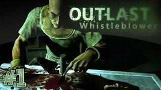 Прохождение игры Outlast WB часть 1(Новый ужас)