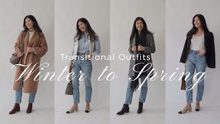 Easy Outfits You Already Own | Winter To Spring Transition