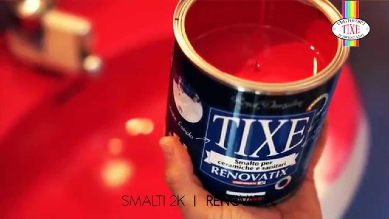 Smalto Per Ceramica E Sanitari.Renovatix By Tixe Tutorial Applicazione Youtube