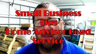 Small Business Tips : Home Advisor