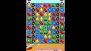 Candy Crush Saga Level 454 iPhone No Boosts