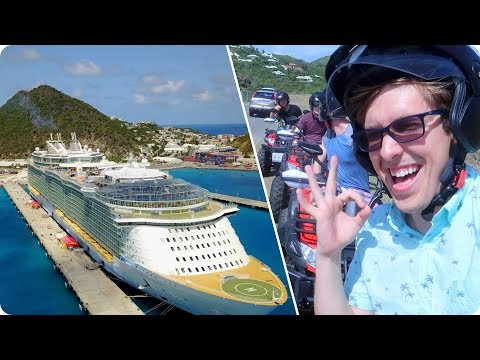 Exploring Saint Martin!