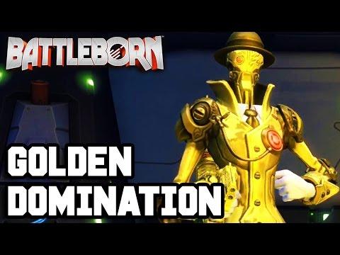 GOLDEN DOMINATION!! Battleborn Gameplay - Multiplayer - Part 2 (PS4 1080p HD)