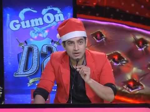 D 2  Episode 9; Christmas Special; Monisha, Vishakh on Gum on Round,