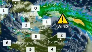The met office has issues a severe yellow weather warning for Norfo...