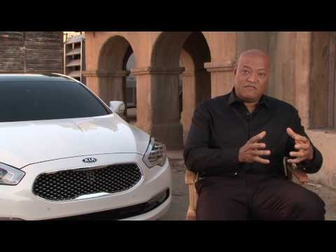 Laurence Fishburne On The Kia Matrix Super Bowl Commercial And The Kia K900 | AutoMotoTV
