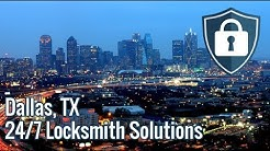Locksmith Dallas TX | 24 Hour Locksmith Dallas | ☎