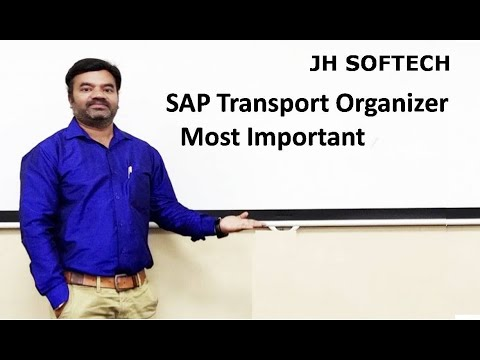 SAP Transport Organizer Most Important