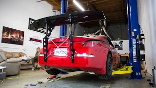 BIG WING 350Z INSTALL!