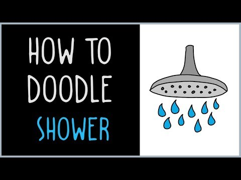 How to Draw a Shower (drawing tips)