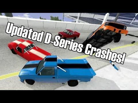 Gavril D-Series UPDATED Supertruck Crashes at ATE-Ona - BeamNG.drive Update 0.18  