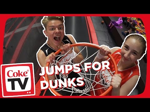 "Jumpball mit ""Air Jonas"" 