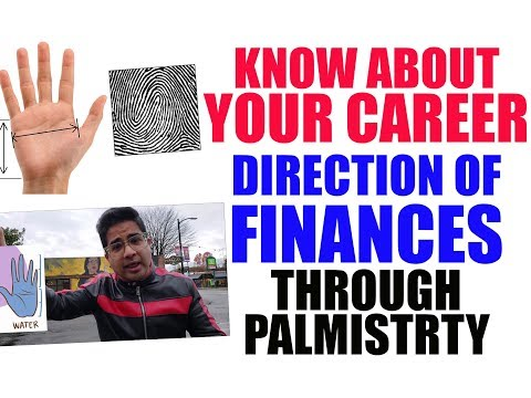 Understand your skill set, career options & direction of finances through Palmistry