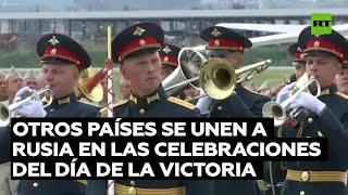 Varios países se unen a Rusia en las celebraciones del Día de la Victoria