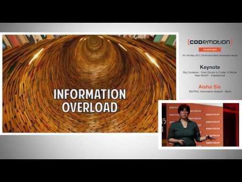 From Doctor to Coder: A Whole New World? - Aisha Sie - Codemotion Amsterdam 2017
