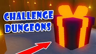 Challenge Alone To Cross Dungeons & Legendary Ice Sword | Unboxing Simulator!! [Roblox]