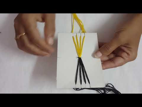 How to make bracelets at home with string