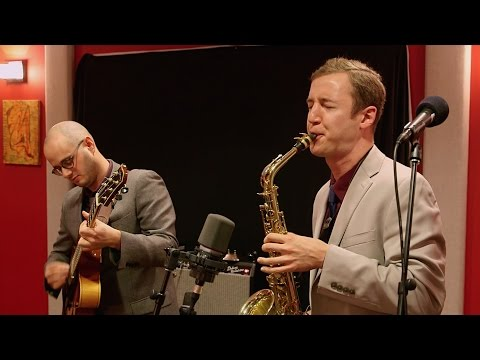 Peter and Will Anderson Trio 'Purple Gazelle' | Live Studio Session
