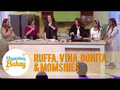 Karla Ruffa Donita and Vina talk about their s as a single mom  Magandang Buhay