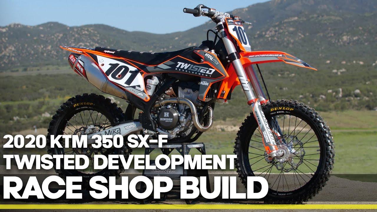 Race Shop Build: Twisted Development 2020 KTM 350 SX-F