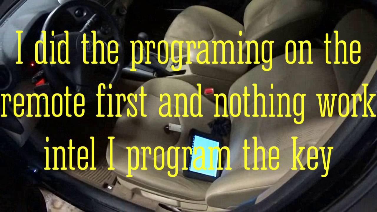 Key program Toyota RAV4 2012