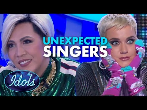 UNEXPECTED SINGING VOICES On Idol | Idols Global