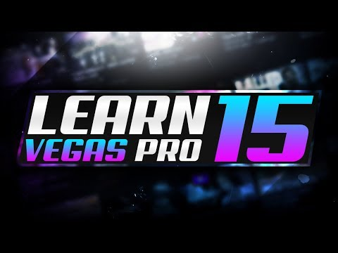 How To Use Sony Vegas PRO 15 For Beginners! LEARN TO EDIT IN