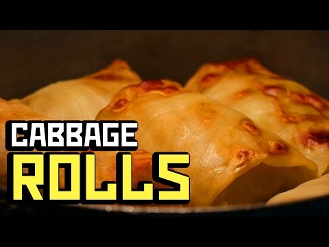 CABBAGE ROLLS - Cooking with Boris