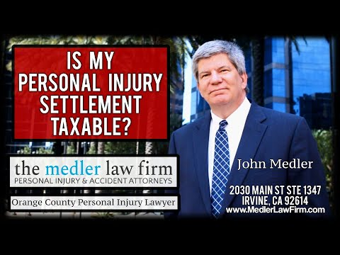 Is My Personal Injury Settlement Taxable?
