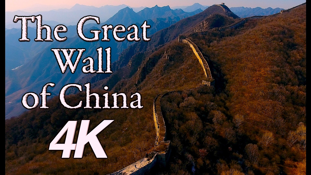 InFlight History 4K - The Great Wall of China 4K Aerial ...