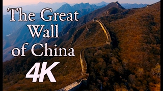 InFlight History 4K - The Great Wall of China 4K  Aerial Drone 4K View