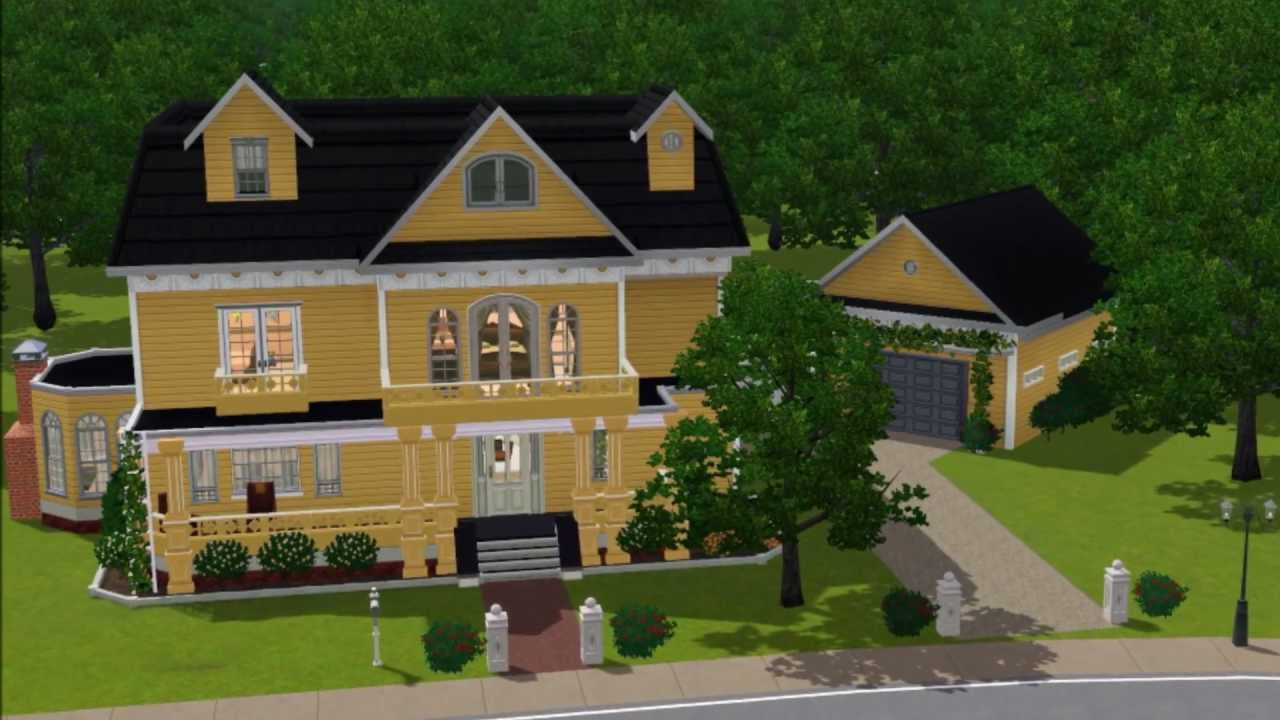 Sims 3 Wisteria Lane Gabrielle Solis House Youtube
