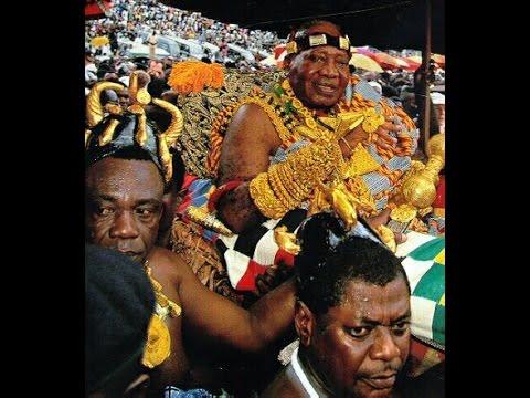 THE ENSTOOLMENT OF OTUMFUO OPOKU WARE II.ASANTEHENE