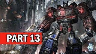 Transformers Rise of the Dark Spark Walkthrough Part 13 - Ascension (PS4 Gameplay Commentary)