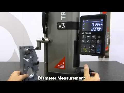 TRIMOS 2차원 측정기 V3 / V4 모델 동영상 -1