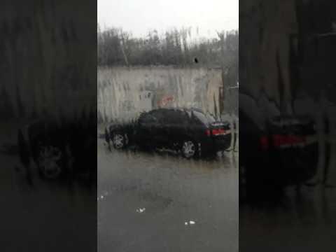 It rained like hail in Al-Ahsa Hofuf Saudi Arabia