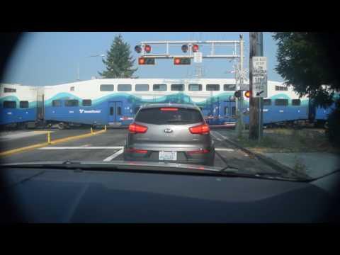 SOUNDER train blasting thru Kent